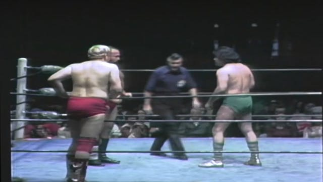 Jose Lothario & Al Madril vs. Tim Brooks & Dick Murdoch (Texas Tag Team Title)