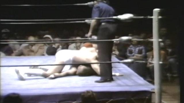 Harley Race vs. Gino Hernandez (NWA TITLE)