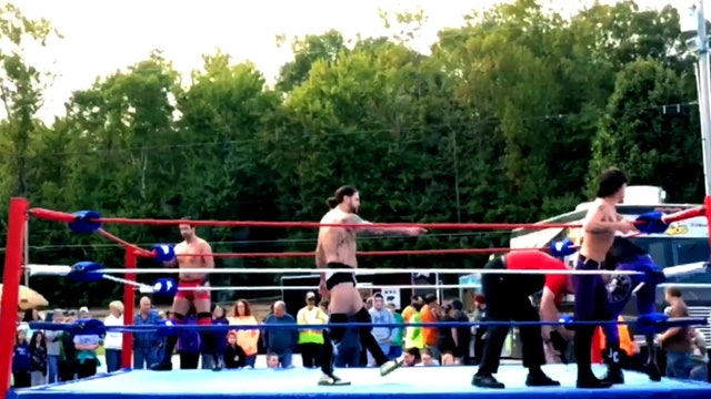 Wayne Atkins & Darkstorm vs. Jeff Conley &  Nate Wilde