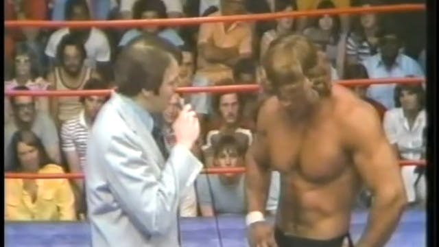 Kerry Von Erich VS Tim Leonard with K...