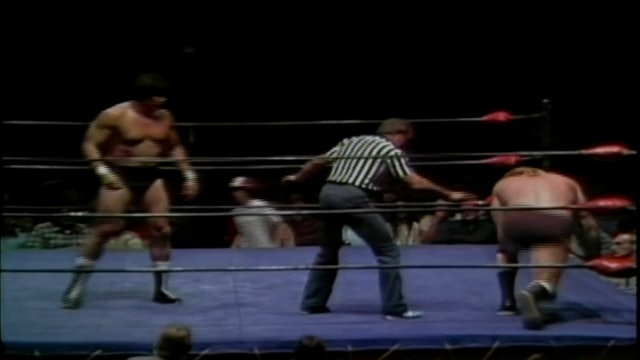 Nick Bockwinkle vs. Tito Santana (Gold Cup Match)