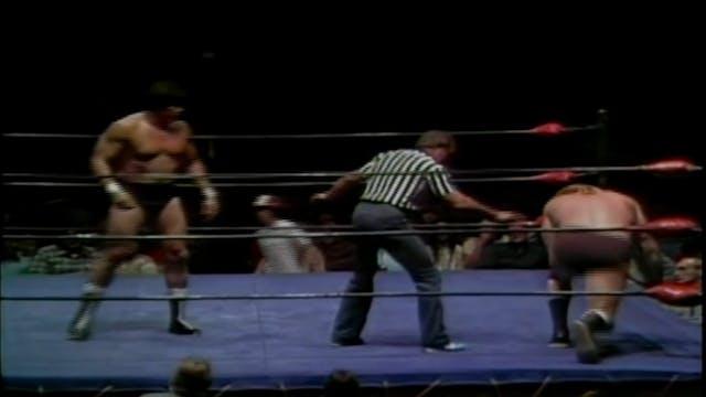 Nick Bockwinkle vs. Tito Santana (Gol...