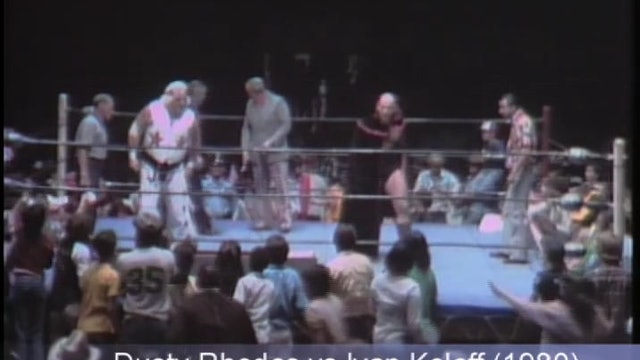 Dusty Rhodes v Ivan Koloff (Casket Match)