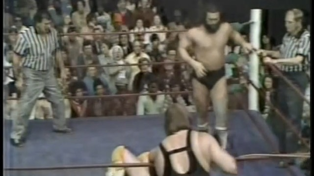 King Kong Brody & Bob Sweetan VS Billy Starr & Bryan St John