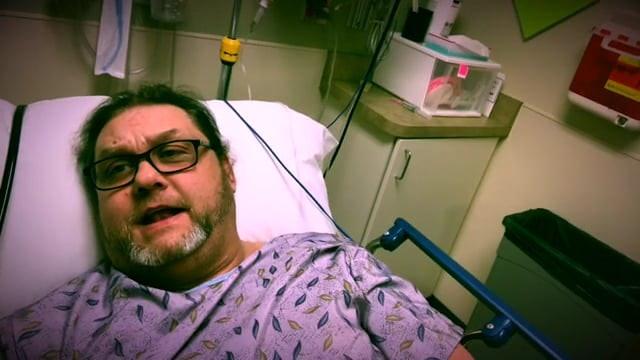 Brian Logan pre surgery