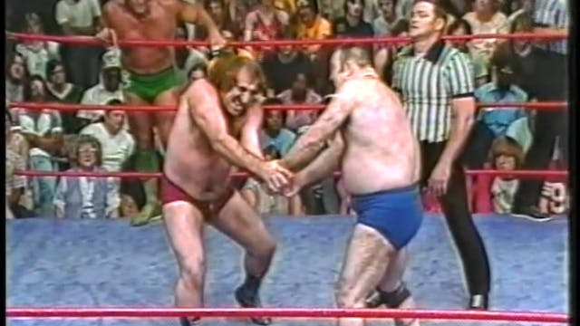 Ric Flair & Jerry Brown VS Bulldog Bo...