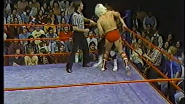 Ric Flair VS Curtis Dean