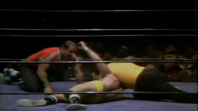 Buck Robley vs. Magnum TA