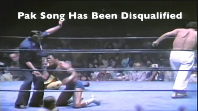 Pak Song vs. Tony Atlas
