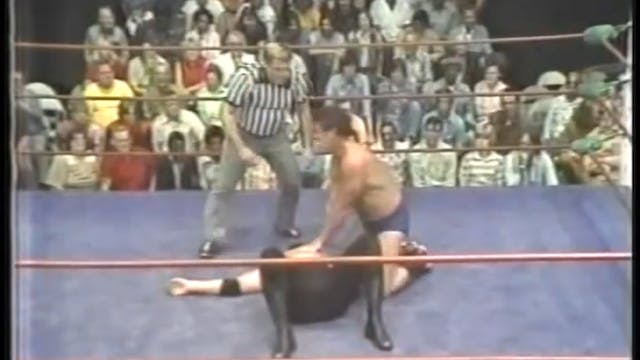 Terry Funk vs Tank Patton