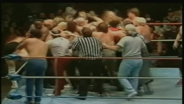 One Man Gang vs. Jim Duggan ( UWF TITLE)