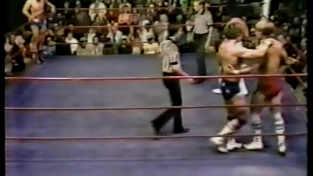 Kerry Von Erich St. Louis TV Debut