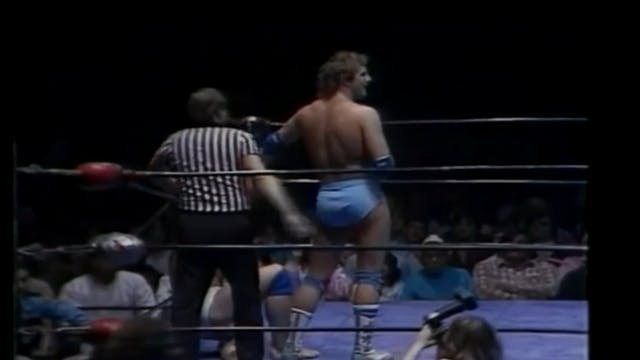 Kevin Von Erich vs. Chris Adams