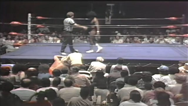Eddie Mansfield vs. Tiger Conway Jr.