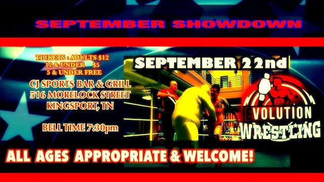 WFS Presents September Showdown