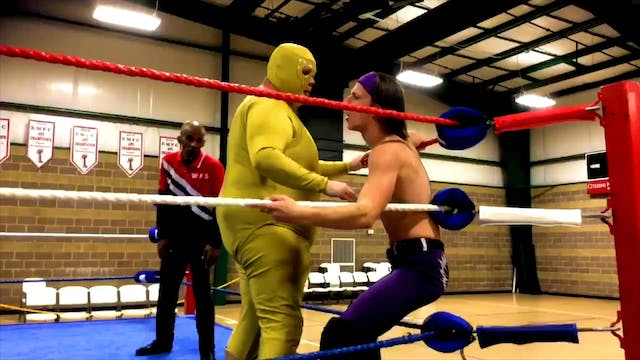 Golden Terror vs. Nate Wilde