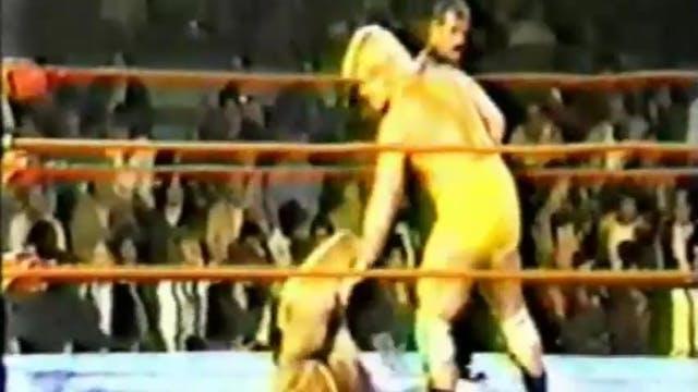 Kawada vs. Chuck Simms