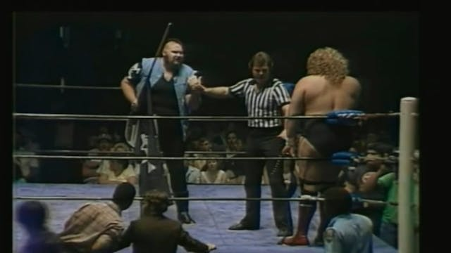 One Man Gang vs. Terry Gordy (UWF TITLE)