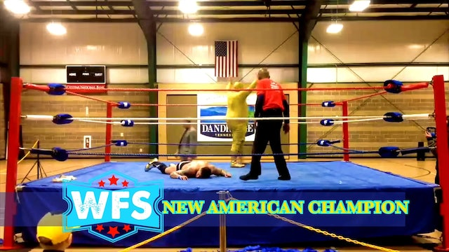 WFS American Title- Golden Terror vs. Eric Darkstorm