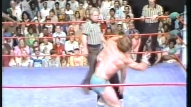 Kerry Von Erich & Rufus R Jones VS JJ...