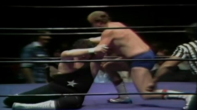 Dory Funk Jr. vs. Moon Mulligan