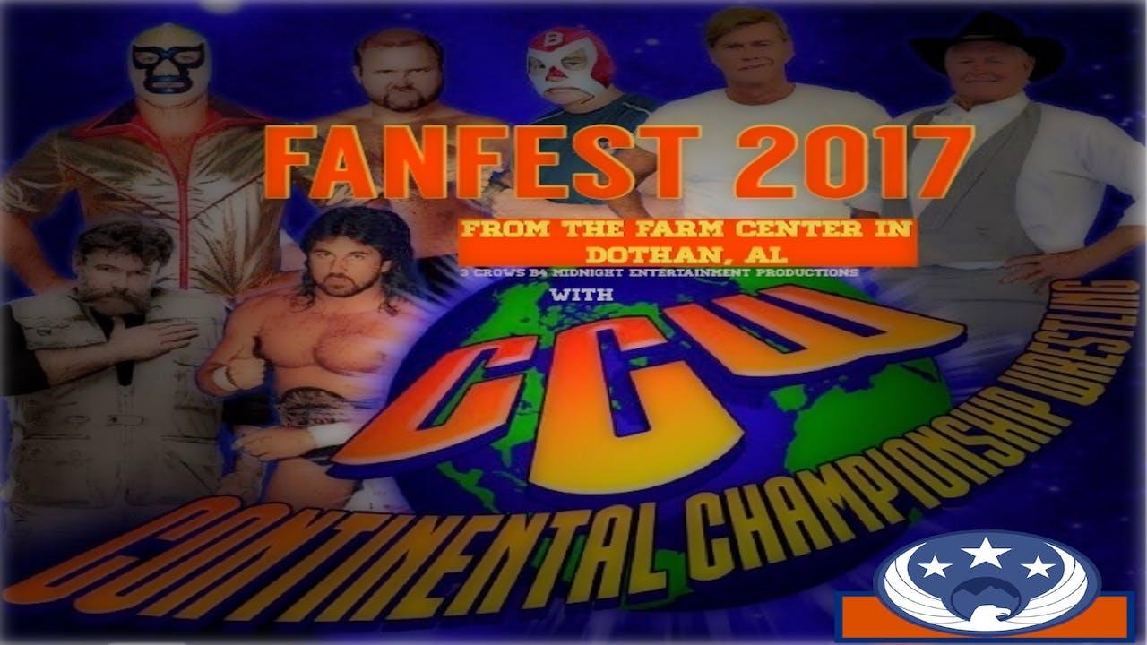 Continental Wrestling Fanfest - Dothan, Al 2017
