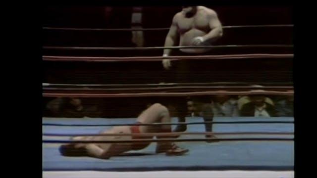 Bugsy McGraw vs. Leon