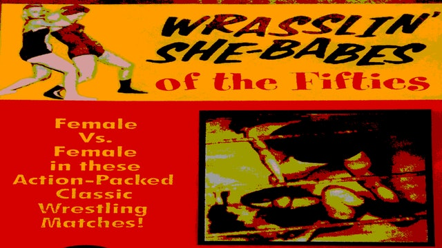 Wrasslin' She Babes of the '50s
