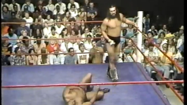 King Kong Brody VS Bill Nixon
