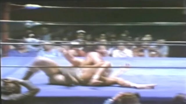 Ken Patera vs. Jimmy Snuka
