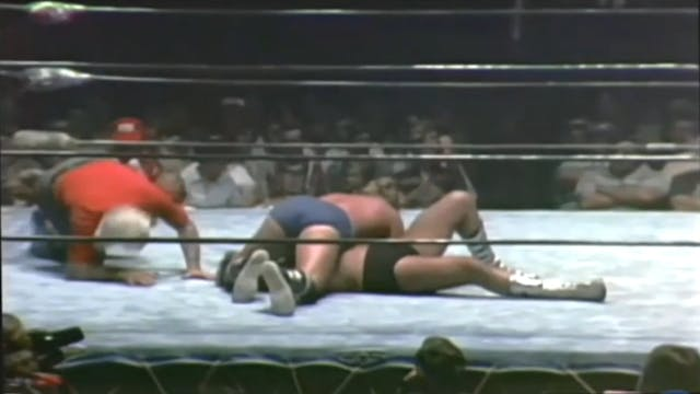 Dick Slater vs. Al Madril