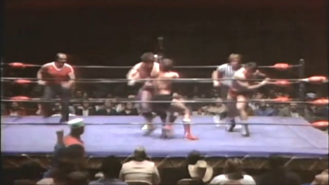 Mil Mascaras & Tito Santana vs. Tully...