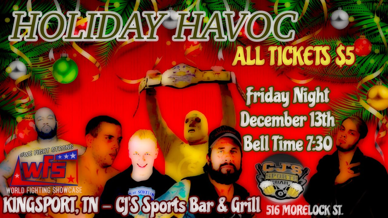 WFS Presents: Holiday Havoc