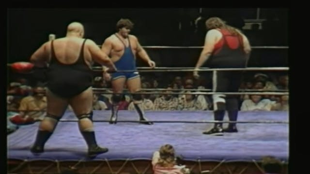 One Man Gang & King Kong Brundy vs. Jim Duggan & Steve Williams