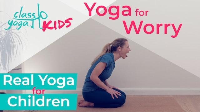 Yoga for Kid's worries