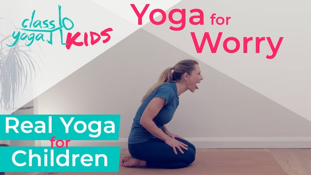 Yoga for Kid's worries