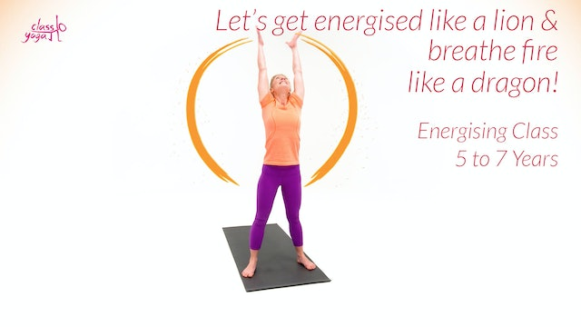 Let's get energised like a lion & breathe fire like a dragon!