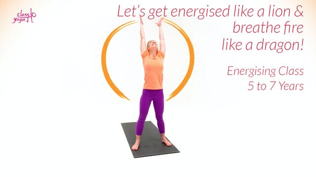Let's get energised like a lion & bre...