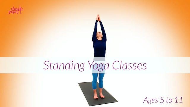 5 - 11 Years Standing Children's Yoga Classes