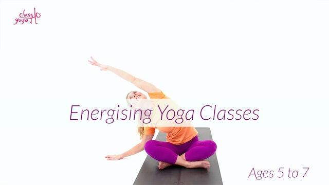 5 - 7 Years Energising Children's Yoga Classes