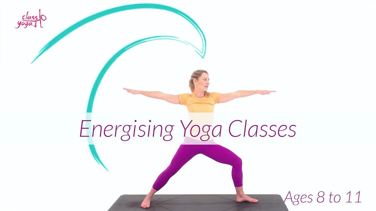 8 - 11 Years Energising Children's Yoga Classes