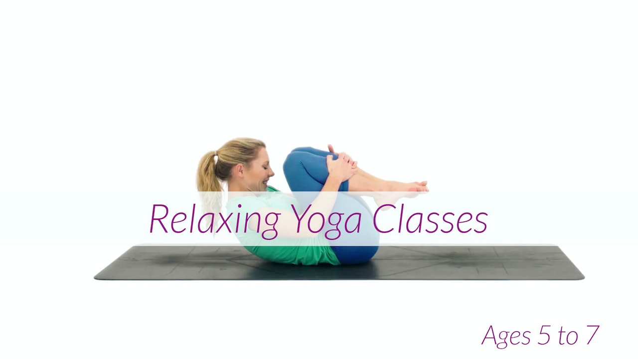 5 - 7 Years Relaxation Children's Yoga Classes