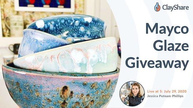 Mayco Glaze Giveaway