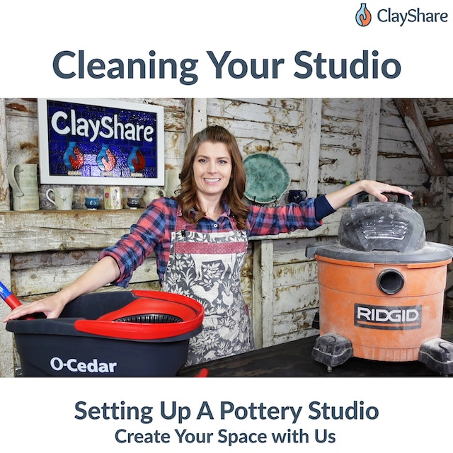 Cleaning Your Studio