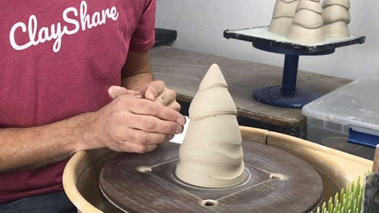 Thrown Ceramic Tree