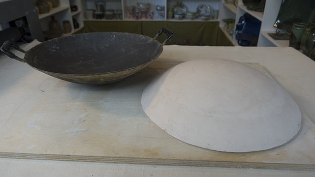 Make A Wok Bowl Mold