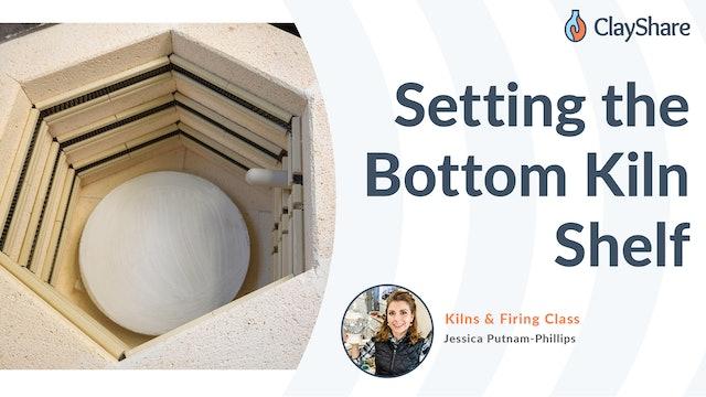 How To Set the Bottom Kiln Shelf In Your Kiln