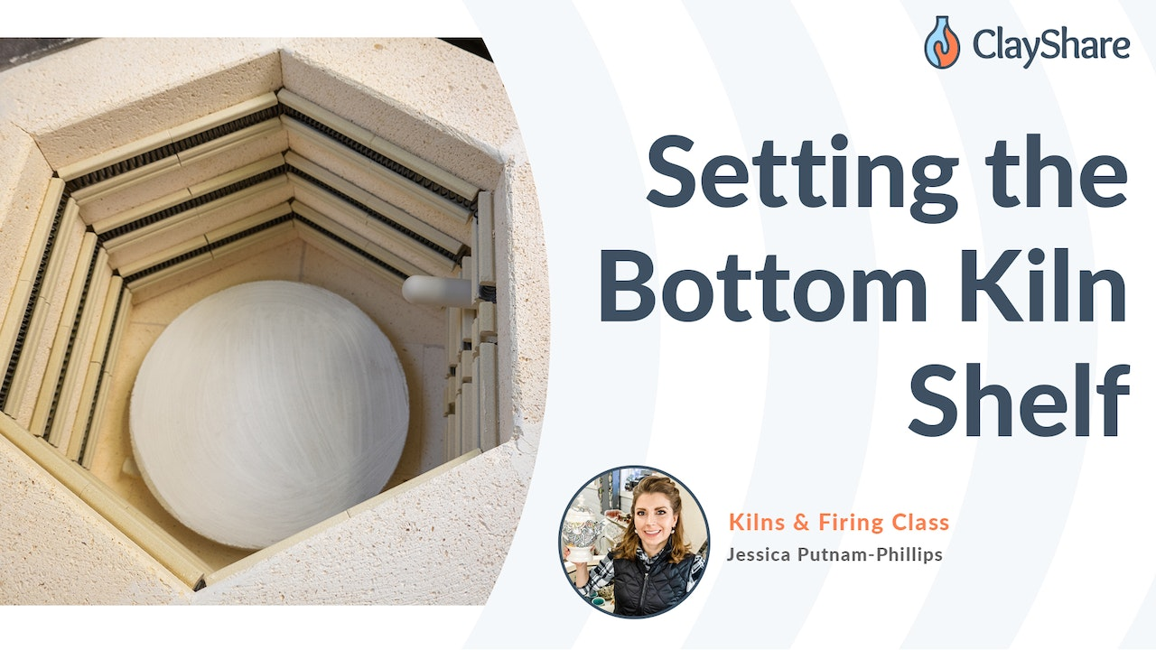 How To Set the Bottom Kiln Shelf In Your Kiln