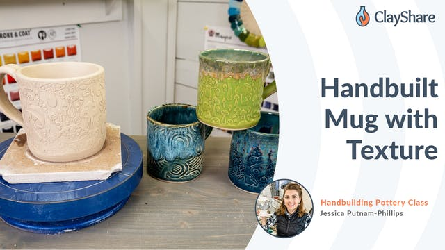 Handbuilt Mug with Texture