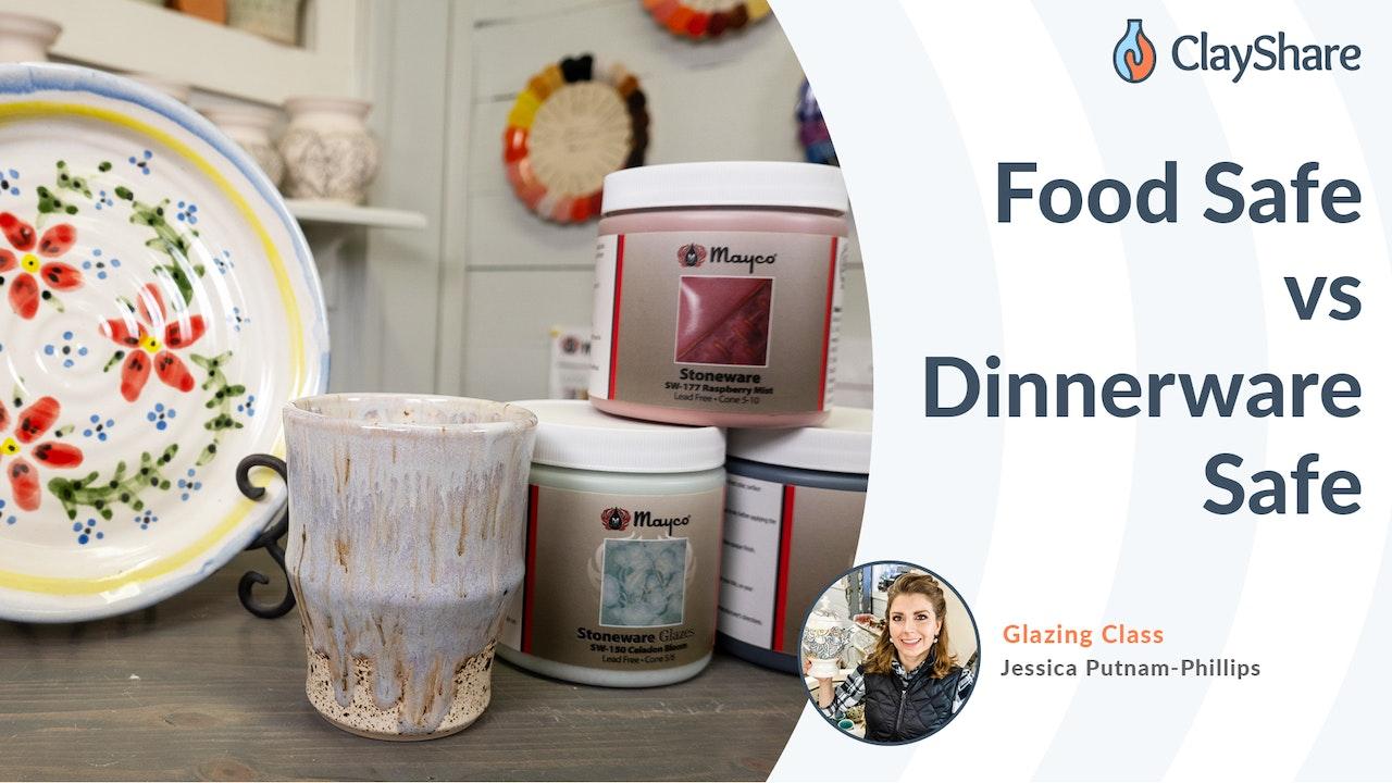 Glazes: Food Safe vs Dinnerware Safe